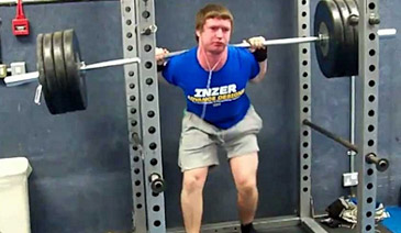 squat too heavy