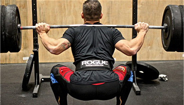 squatting knee pain