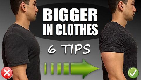 bigger in clothes