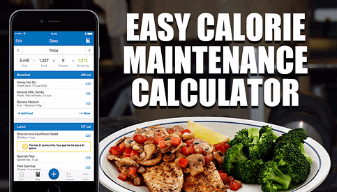 calculate maintenance calories