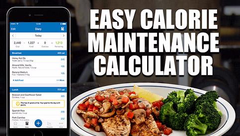 calculate maintenance calories