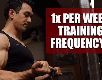 train each muscle once per week