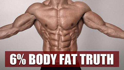 6% body fat